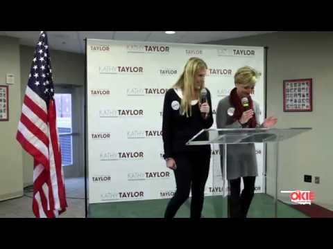 OKIE EXCLUSIVE:Kathy Taylor's Mayoral Bid Press Conference