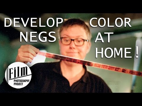 Develop Color Negatives at Home - How to - Crash Course!