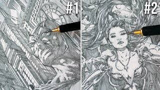 10 INSANELY DETAILED DRAWINGS YOU WONT BELIEVE EXIST!