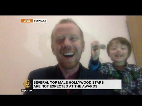 FATHER OF THE YEAR! Adorable kid interrupts dad's live interview on Al Jazeera