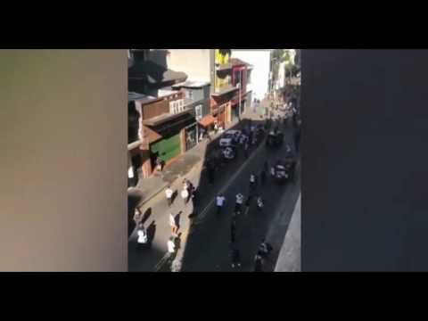 Car Runs Over Hundreds Of Skaters In São Paulo