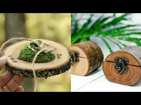 Latest Wood Rings Box|| Beautiful & Engagement Rings box 2019