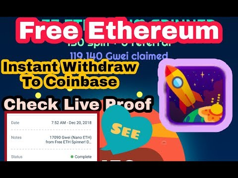 Free Ethereum Instant withdraw to your wallet ,Live payment Proof.Check my live withdrawl proof.