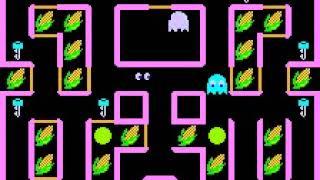 Super Pac-Man (Namco/1982) Gameplay