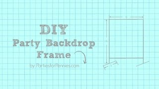 How to Build a DIY Backdrop