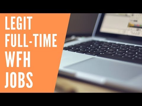 5 Full-Time Work-At-Home Jobs Hiring NOW for September 2019