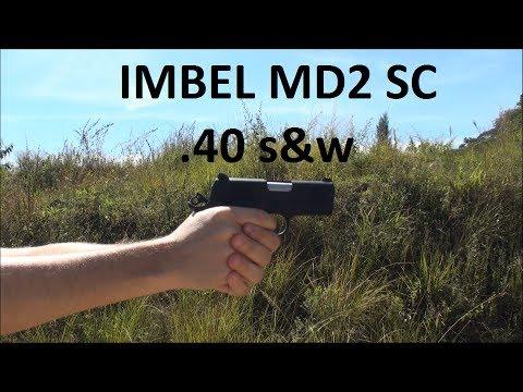 """Pistola IMBEL MD2 SC .40 S&W """"Xodó"""" - Parte 2/2"""