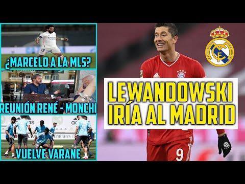 LEWANDOWSKI IRÍA AL MADRID: ¿ES POSIBLE? | ¿MARCELO A LA MLS? | REUNIÓN RAMOS SEVILLA | VARANE LISTO