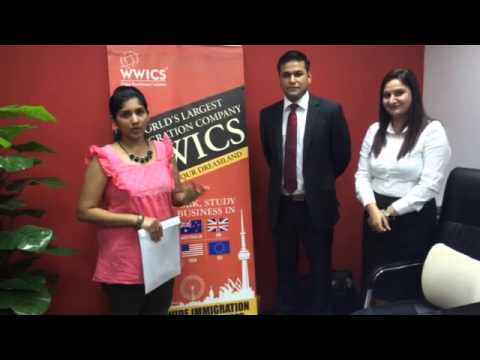 WWICS | WWICS Review Client Testimonial Congrats, Another Visa Papers!!!!