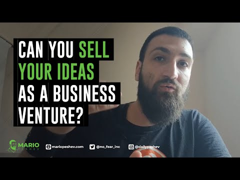 Can You Sell Your Ideas As a Business Venture (Are Ideas Worth It At All?)