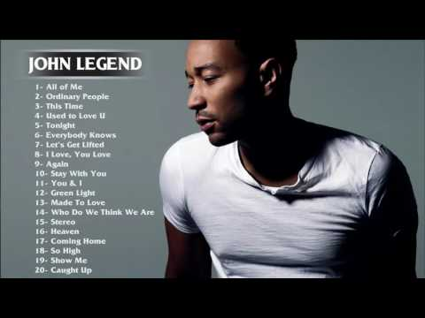 Best Songs of John Legend - John Legend greatest hits full album