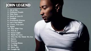 Download Best Songs of John Legend - John Legend greatest hits full album Mp3 and Videos