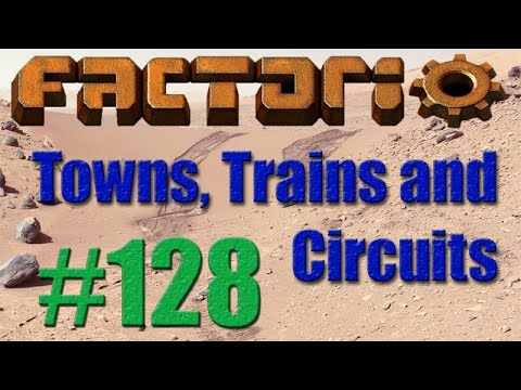 Factorio - Towns, Trains and Circuits (CCT) - 128 - Solar Field South