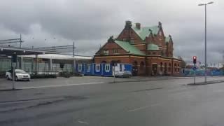 Umeå Centralstation renoveras efter att ha blivit ockuperad av tiggare