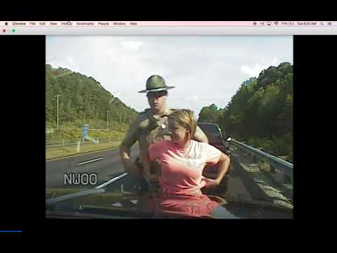 Dashcam Video Released for Tennessee woman's lawsuit claims trooper groped her, pulled over twice