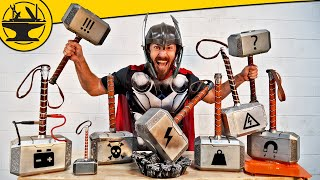 Thor's Hammers in Real Life! (Hacksmith Vault #1)