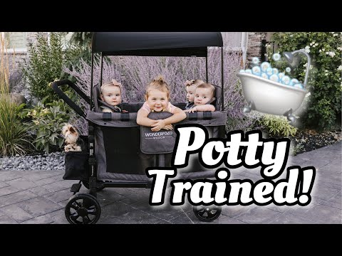 Wow! She Is Potty Trained!   How To Potty Train Your Toddler