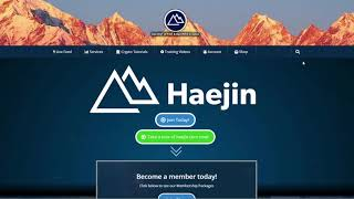 Haejin.com Membership Benefits