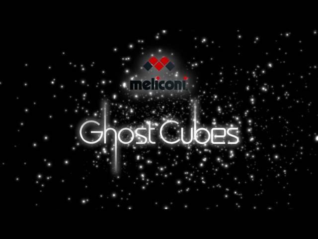 Risultati immagini per Ghost Cubes, novità per la Tv da Meliconi