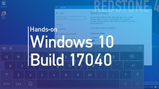 Windows 10 build 17040: Hands-on with HDR settings, input, and more