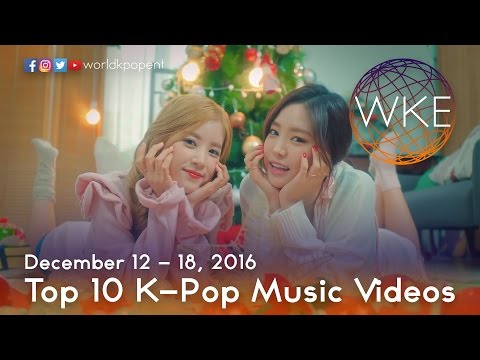 Download Top 10 K-Pop Music Videos (December 12 - 18, 2016)