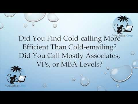 Cold-calling or Cold-Emailing?