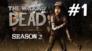 The Walking Dead Season 2 Episode 1 - All that Remains Walkthrough Part 1 - Clementine