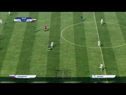 2010 FIFA World Cup South Africa - Algeria vs Slovenia Gameplay HD (New)