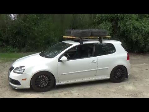 Diy Custom Wood Roof Rack Youtube