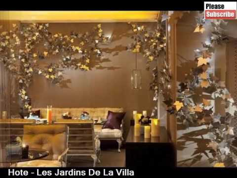 les jardins de la villa best place to stay in paris pictures and basic hotel guide youtube On les jardins de la villa paris hotel