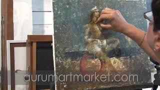 Видео уроки живописи Тельняшка
