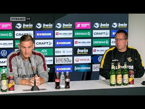 2. Spieltag | SGD - SVW | Pressekonferenz vor dem Spiel