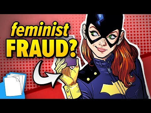 How BATGIRL is a Strong AND Weak Feminist Comic Book Character! | Auram