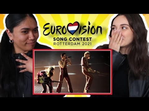 Canadians REACT to Eurovision 2021 - TOP FIVE