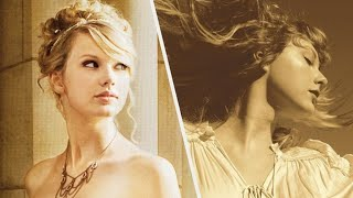 Taylor Swift Love Story 2008 vs 2021 Re-recording (Vocal Comparison)