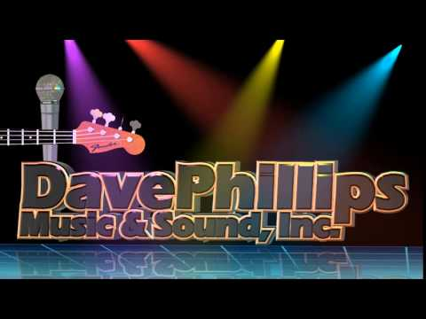 Dave Phillips Music & Sound logo animation