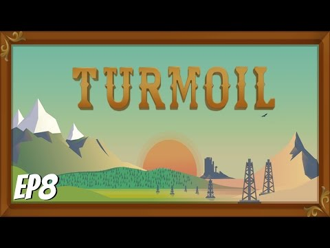 Turmoil Gameplay- Episode 8- Fighting for Stocks & First Dia