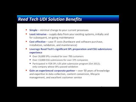 Unique Device Identification UDI Requirements and Timelines