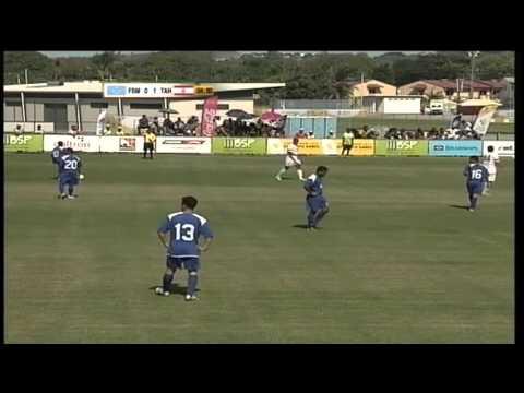 Pacific Games    2015 Football: FSM vs Tahiti