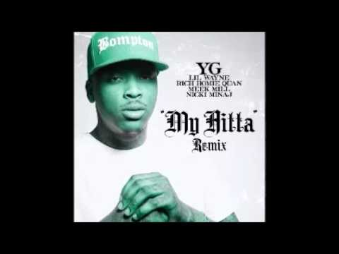 YG, Lil Wayne, Rich Homie Quan, Meek Mill & Nicki Minaj - My N**** (Official Remix) (Clean)