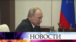 Владимир Путин встретился с губернатором Тверской области Игорем Руденей.