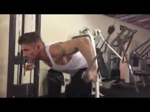 Jessie Pavelka training