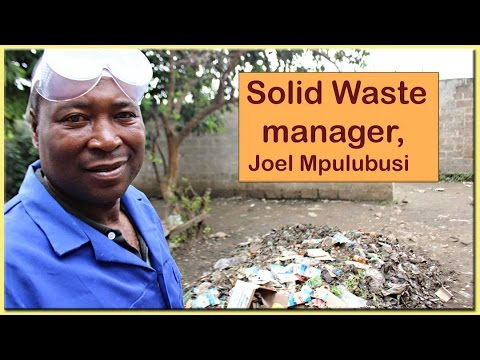 Solid Waste manager, Joel wants to expand and go into recycling.