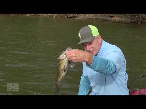3B Outdoors TV - Jet Boat Smallmouth Bass Fishing, Harrisburg, PA