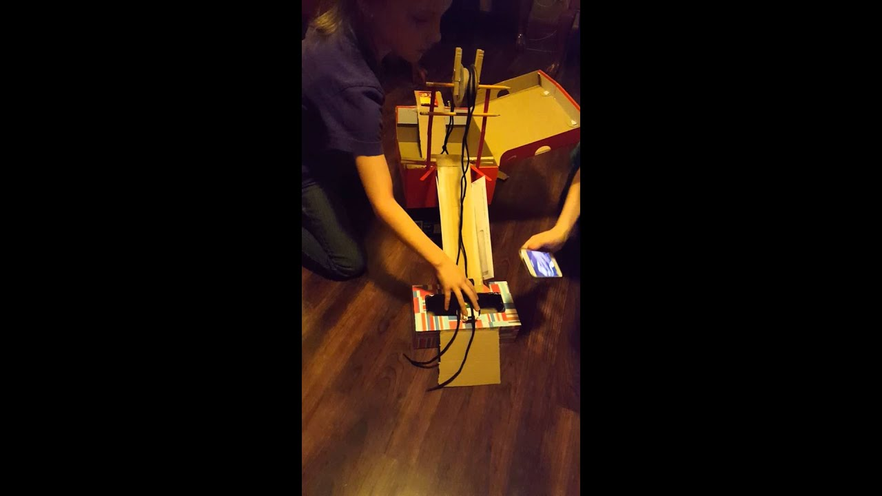 Simple Machine Valentine Box