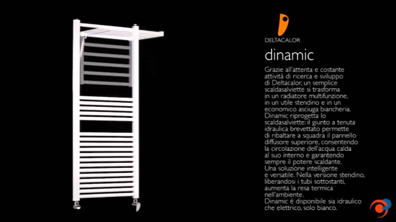 Dinamic radiador toallero de deltacalor para calefacci n - Calefactor para bano ...