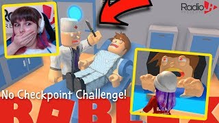 Roblox Obby NO CHECKPOINT CHALLENGE! Escape The Dentist!