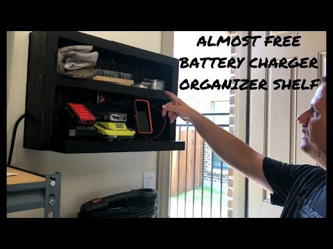 battery-charger-shelf-organizer