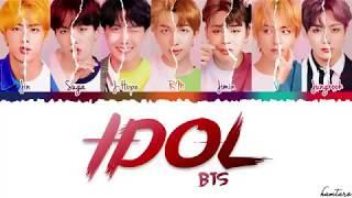 Download BTS—'lDOL' (Feat NICKI MINAJ) Lyrice [Color Coded—Han—Rom—Eng Mp3