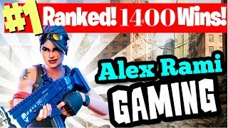 #1 WORLD RANKED - 1400 SOLO WINS! - FORTNITE BATTLE ROYALE LIVE STREAM
